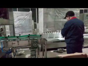 tangan sabun gel alkohol mengisi garis pembotolan mesin