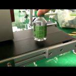mesin pelabelan stiker desktop untuk botol air plastik