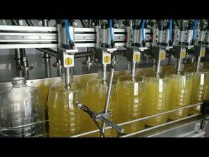 Drum pelumas minyak drum otomatis mengisi mesin capping