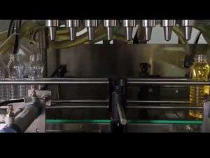minyak goreng otomatis, mesin capping mengisi minyak sawit