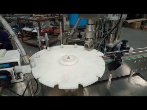 penjualan panas penuh otomatis 10 ml 20 ml 25 ml tabung reaksi mengisi mesin kemasan capping