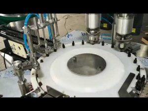 volume penuh otomatis kecil minyak esensial mengisi mesin capping