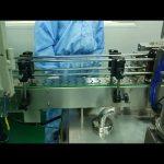 30ml hingga 100ml double track filling dan screwing machine untuk botol bulat