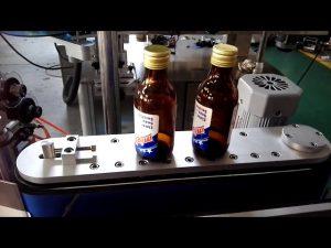 stiker perekat diri otomatis putaran botol mesin pelabelan