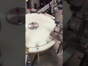 otomatis botol lotion kecil mengisi dan mesin capping