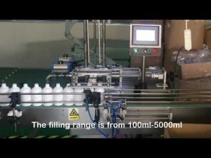 otomatis 2 nozzle servo mesin pengisian botol sampo