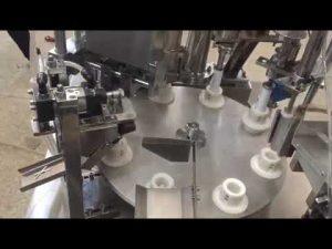 pasta plastik lunak otomatis, salep, pasta gigi, tabung mengisi mesin penyegel