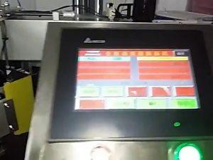 mesin cetak label otomatis terkomputerisasi roll stiker mesin label kantong plastik