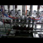 linear otomatis 4 kepala botol piston saus kental saus cair kemasan mesin mengisi