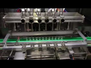 mesin pengisian gel pembersih alkohol otomatis untuk industri kimia sehari-hari