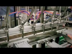 deterjen linear piston otomatis, sampo, mesin pembotolan cairan kental pelumas minyak