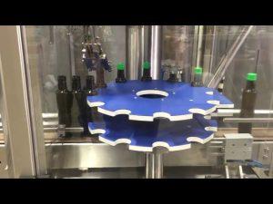 ropp aluminium screw cap capping otomatis mesin penyegel untuk botol kaca