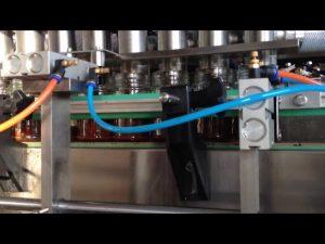 mesin mengisi saus selai kacang cokelat otomatis