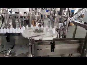 kosmetik botol plastik mengisi mesin capping