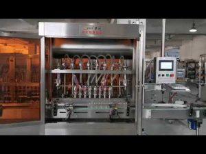 mesin mengisi sero saus tomat otomatis penuh
