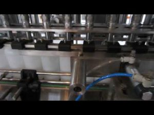 deterjen cair otomatis dan mesin mengisi cairan desinfektan