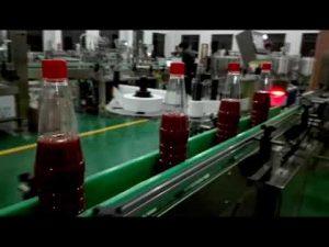 kecepatan tinggi mesin pengisian botol otomatis penuh untuk saus tomat, selai, saus