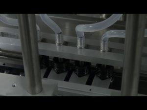 10ml-5l 6 kepala desktop otomatis mesin mengisi cair akurat