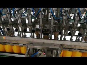 12 kepala mesin mengisi botol otomatis untuk saus minyak saus tomat