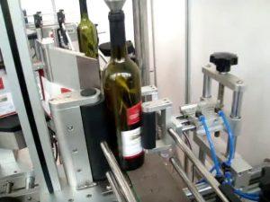 kecepatan tinggi sisi ganda dan putaran mesin pelabelan botol otomatis