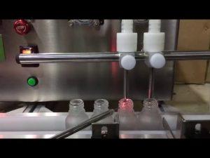 Mini ukuran bangku atas otomatis botol kecil minyak esensial cair mengisi mesin untuk dijual