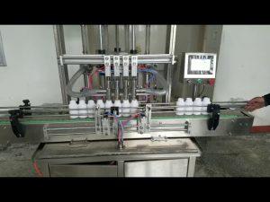 mesin mengisi botol pasta cair kental otomatis untuk sabun cair, body lotion, sampo