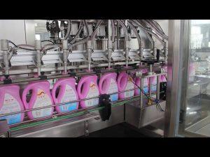 minyak nabati otomatis, minyak zaitun, botol sampo botol deterjen mengisi mesin