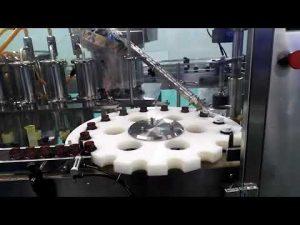 es asam hidroklorat hdpe yayasan flowmeter minyak mengisi dan penyegelan mesin