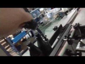 otomatis inline lurus botol kaca aluminium cap ropp capping machine